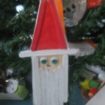 Santa Recycled decoration